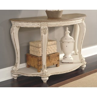 Shop Alaterre Rustic Reclaimed Wood Sofa Console Table