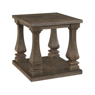 Johnelle End Table - Gray