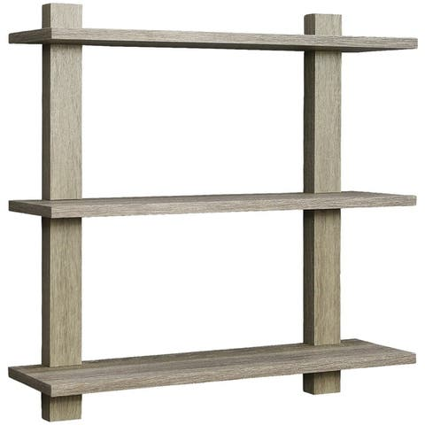 Sorbus Floating Shelf Asymmetric Square Wall Shelf