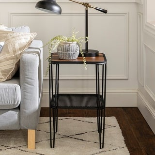 Carbon Loft Ogle Urban Hairpin Side Table