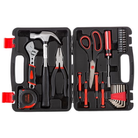 Tool Kit - 28 Heat-Treated Pieces with Carrying Case by Stalwart