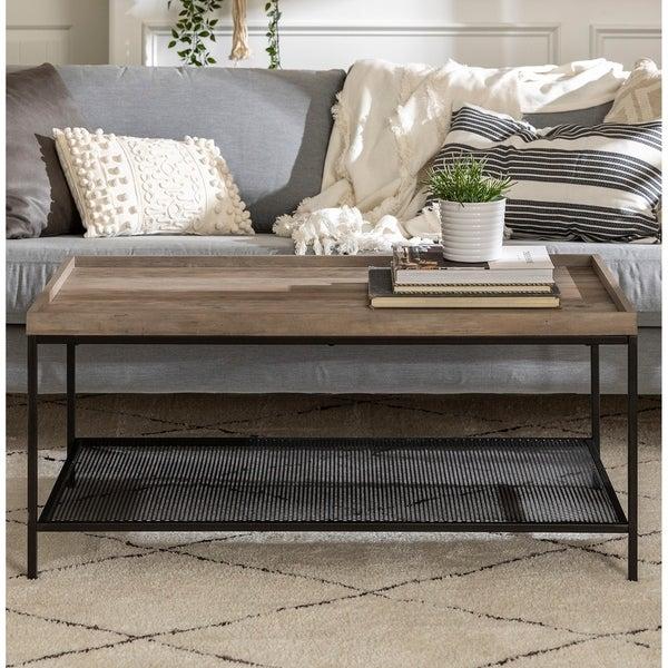 Carbon Loft Edelman Tray Top Coffee Table - 42 x 24 x 20H