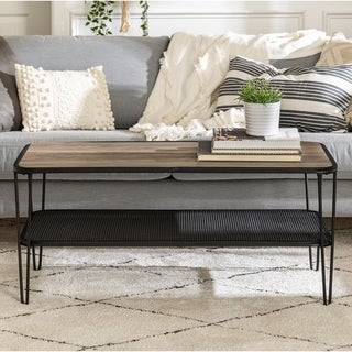 Carbon Loft Ogle Hairpin Coffee Table - 42 x 20 x 19h
