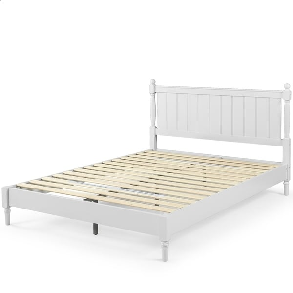 Shop Priage By Zinus Provence 12 Inch Wood Platform Bed
