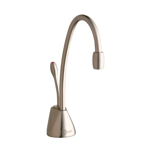 InSinkErator Indulge Contemporary Hot Only Faucet, Satin Nickel (F-GN1100SN)