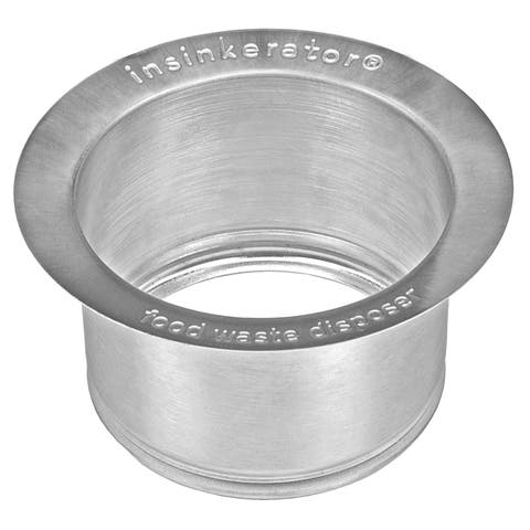 InSinkErator Extended Sink Flange, Stainless Steel (FLG-SSLG)