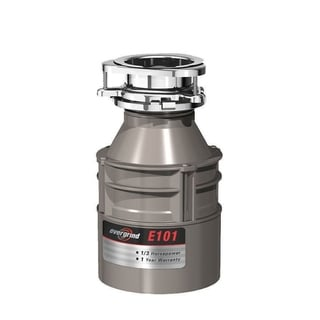 InSinkErator Evergrind E101 Garbage Disposal with Cord, 1/3 HP (E101W/C)
