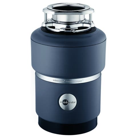 InSinkErator Evolution Compact Garbage Disposal HP with Cord, 3/4 (COMPACTW/CORD)