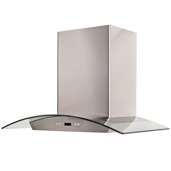 Wonderful 30 Inch Island Hood Part - 9: Cavaliere-Euro 30-inch Island Mount Range Hood - Free Shipping Today -  Overstock.com - 10802341