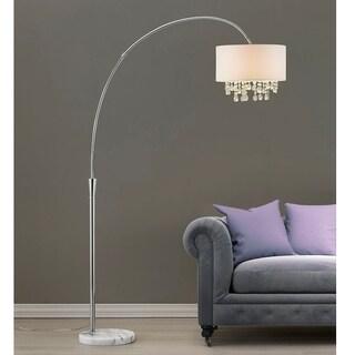 "Monroe 81""H Crystal Pendants Arch Floor Lamp"