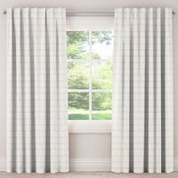 Skyline Furniture Unlined Curtains in Dash