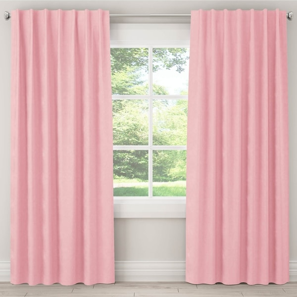 Skyline Furniture Blackout Curtain in Microsuede