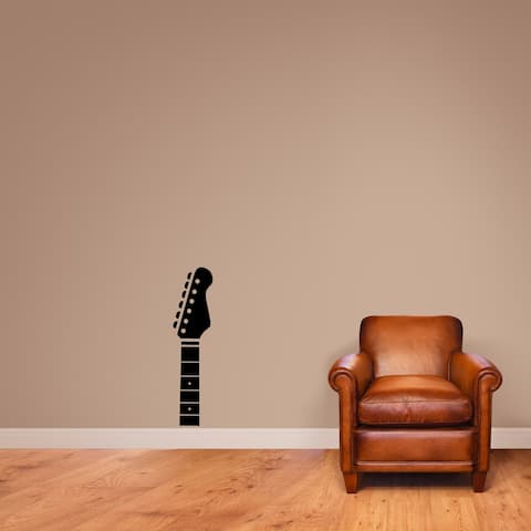 Guitar Headstock Wall Decal