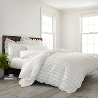 Porch & Den Fagode Organic Cotton Striped Duvet Cover Set