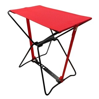 Evelots Portable Folding Mini Camping Seat, Red