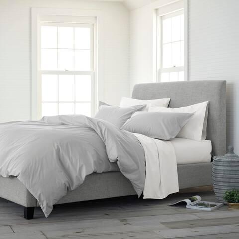 Copper Grove Dijon Organic Solid Comforter Set