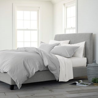 Copper Grove Dijon Organic Solid Comforter Set