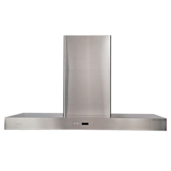 Grease Trap For Sale >> Shop Cavaliere-Euro 36-Inch Island-Mount Modern Range Hood - Free Shipping Today - Overstock.com ...