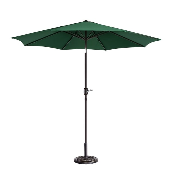 Havenside Home North Bend 9-inch Outdoor Patio Umbrella with 8 Ribs Auto Tilt