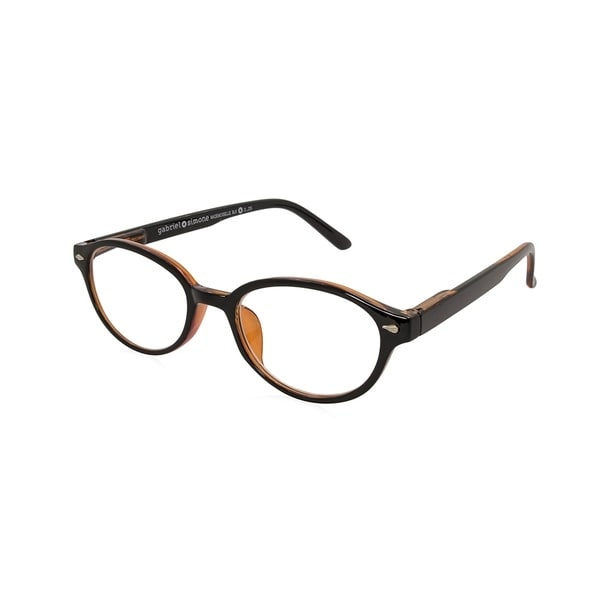 9b6e24f6a3 Shop Gabriel + Simone Mademoiselle Black Women Reading Glasses - Free  Shipping On Orders Over  45 - Overstock.com - 25897049