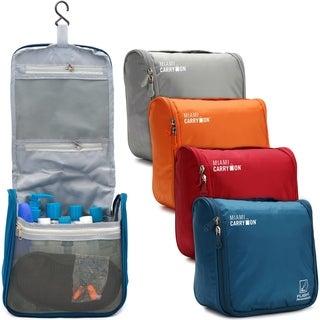 Miami CarryOn Travel Cosmetic Bag, Hanging Toiletry Bag