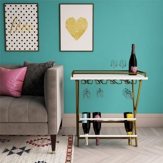 CosmoLiving by Cosmopolitan Trevia Folding Wine Rack