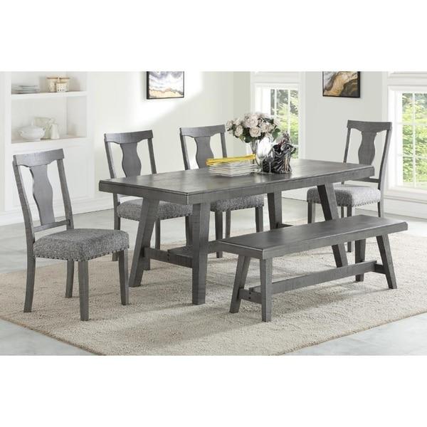 Payton Solid Wood Decorative Dining Set