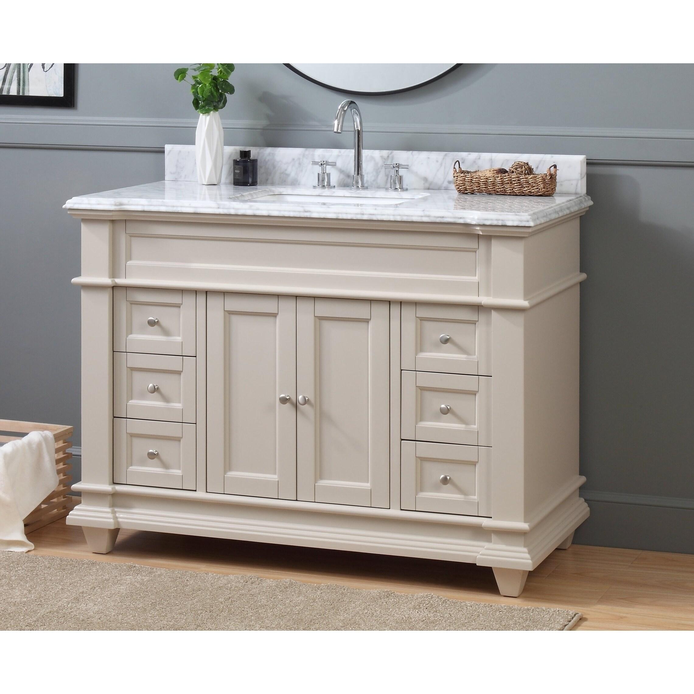buy 46 inch bathroom vanities vanity cabinets online at overstock rh overstock com 46 bathroom vanity cabinets 46 bathroom vanity with sink