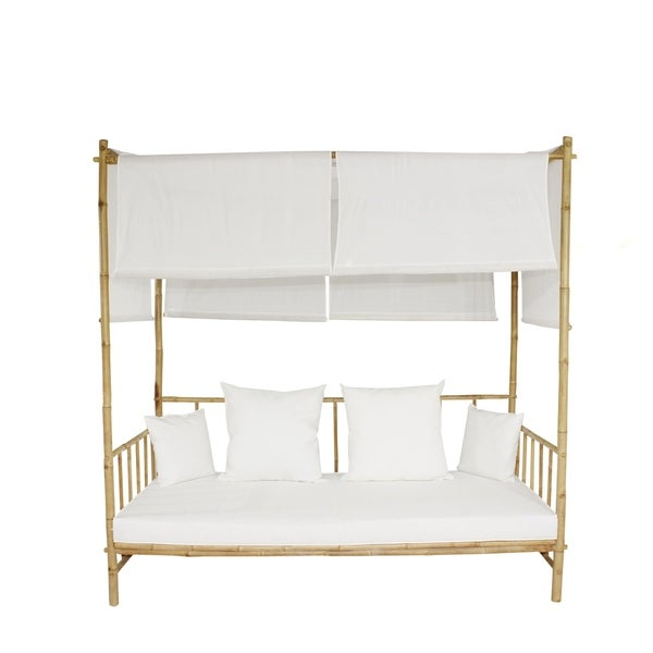 Bamboo Daybed With Canopy