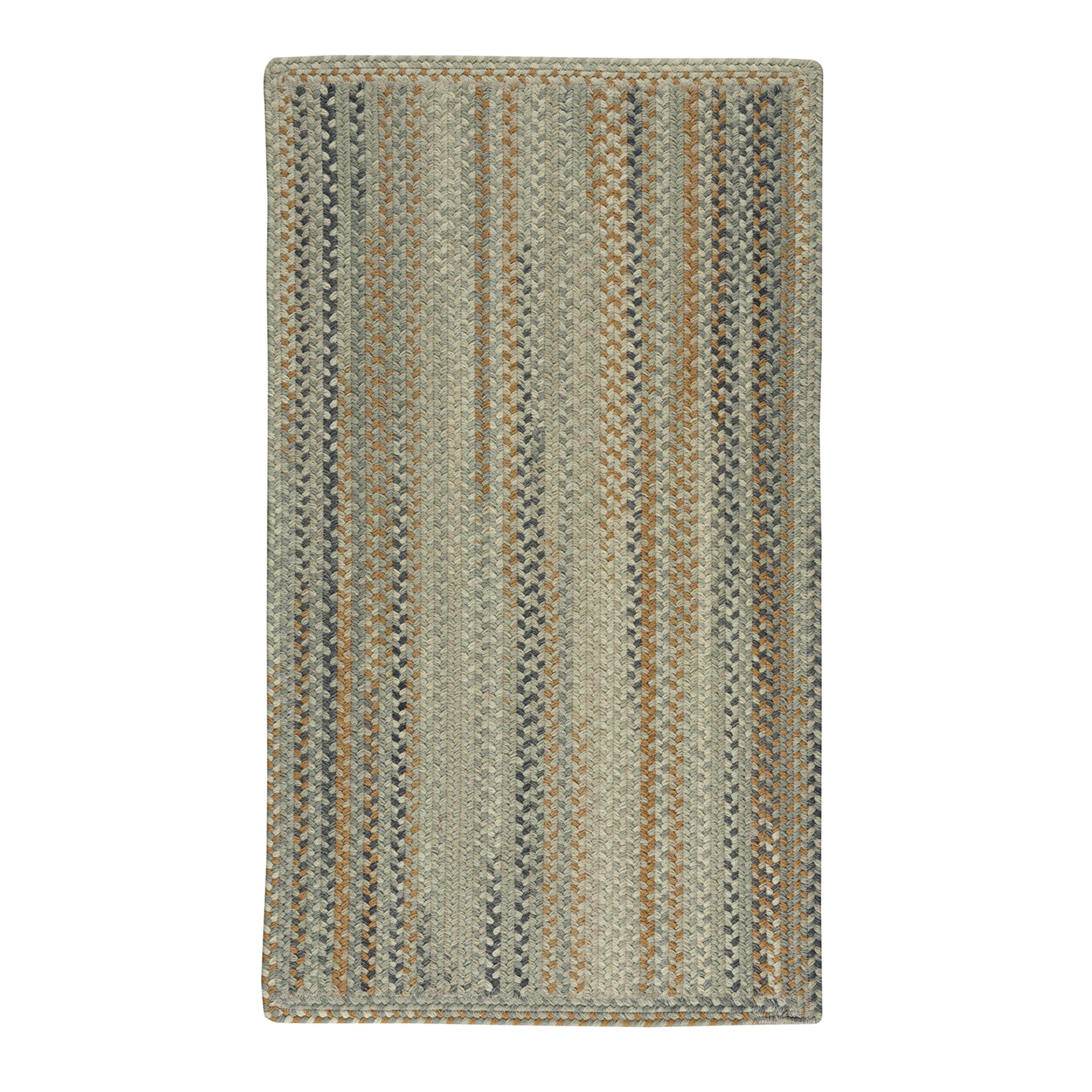 Capel Rugs Braided Melange Wool