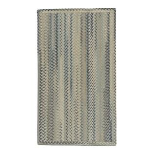 Capel Rugs Braided Melange Wool Area Rug