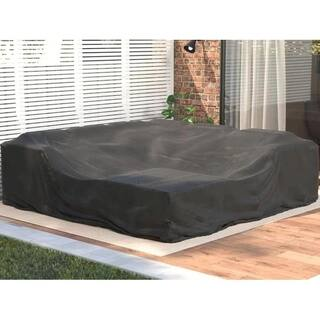 Square Patio Dining And Sofa Set Cover
