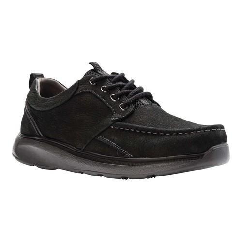 Men's Propet Orson Oxford Black Tumbled Leather
