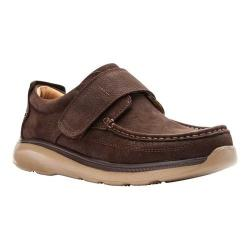 Men's Propet Otto Slip-On Brown Tumbled Leather