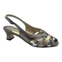 Women's Ros Hommerson Pearl Slingback Metallic Multi Leather