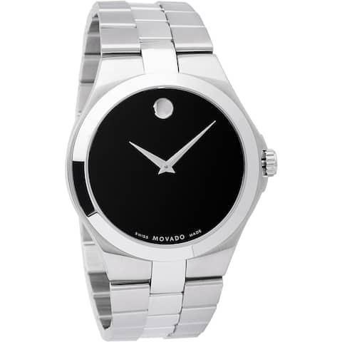 Movado Men's Junior Stainless Steel Sport Watch - Silver
