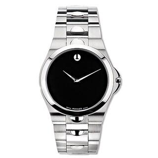 Movado Luno Men's Stainless Steel Quartz Watch