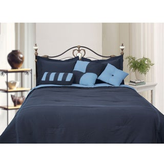 Microfiber Reversible 4-piece Comforter Set (More options available)