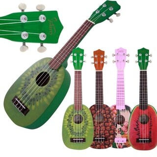 "Link to Glarry UC101 21"" Children Uku 4 Patterns Ukulele Basswood 4-string Guitar - 21'' Similar Items in Guitars & Amplifiers"