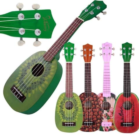 "Glarry UC101 21"" Children Uku 4 Patterns Ukulele Basswood 4-string Guitar - 21''"