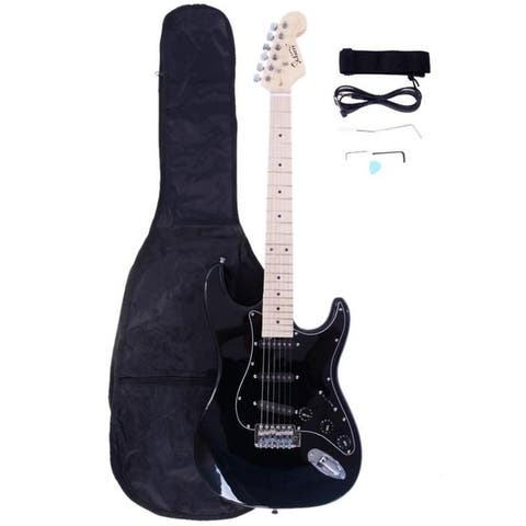 8 Colors Burning Fire 22 Frets Beginner Electric Guitar Kit