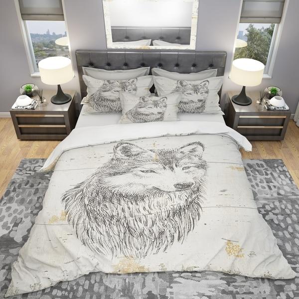 Shop Designart Wolf Wild And Beautiful Iii Farmhouse