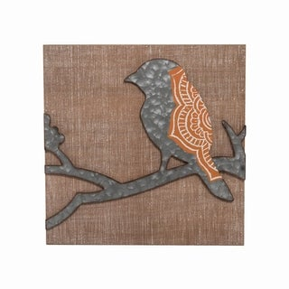 Henna Wing Bird Wall Art