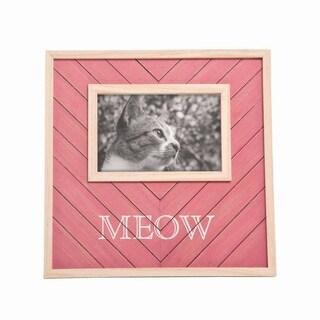 4X6 Meow Pet Photo Frame
