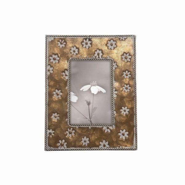 4X6 Brass Alden Photo Frame