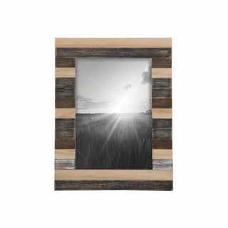 5X7 Slatted Wood Photo Frame