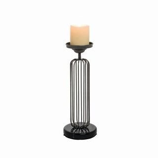 Cage Pillar Candle Holder Small
