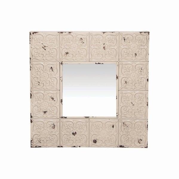 Carlos Mirror - Antique White - A/N