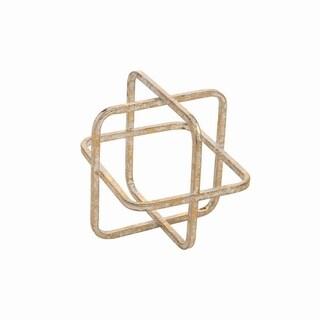 Metal Cube Sculpture Large