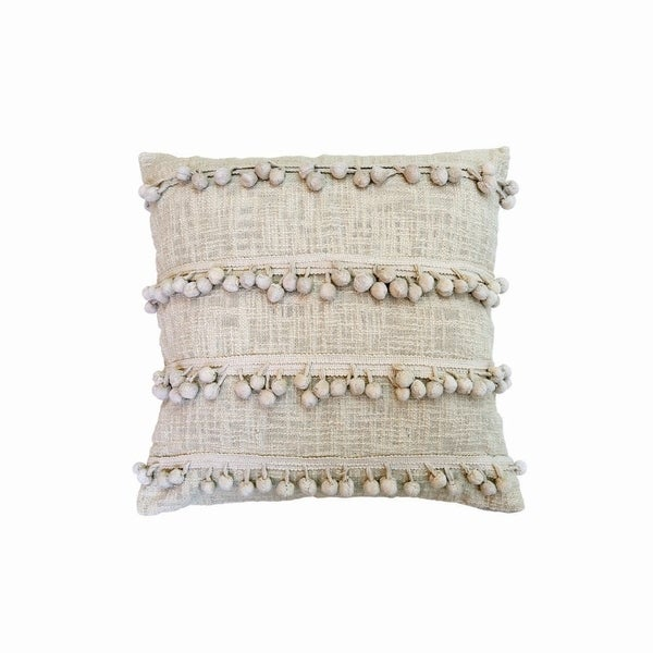 18X18 Hand Woven Clarice Pillow
